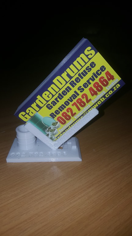 3d printed business card stand recreate3d 20171108170146 reheart Images